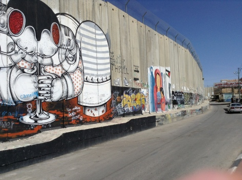 Bethlehem -the Wall