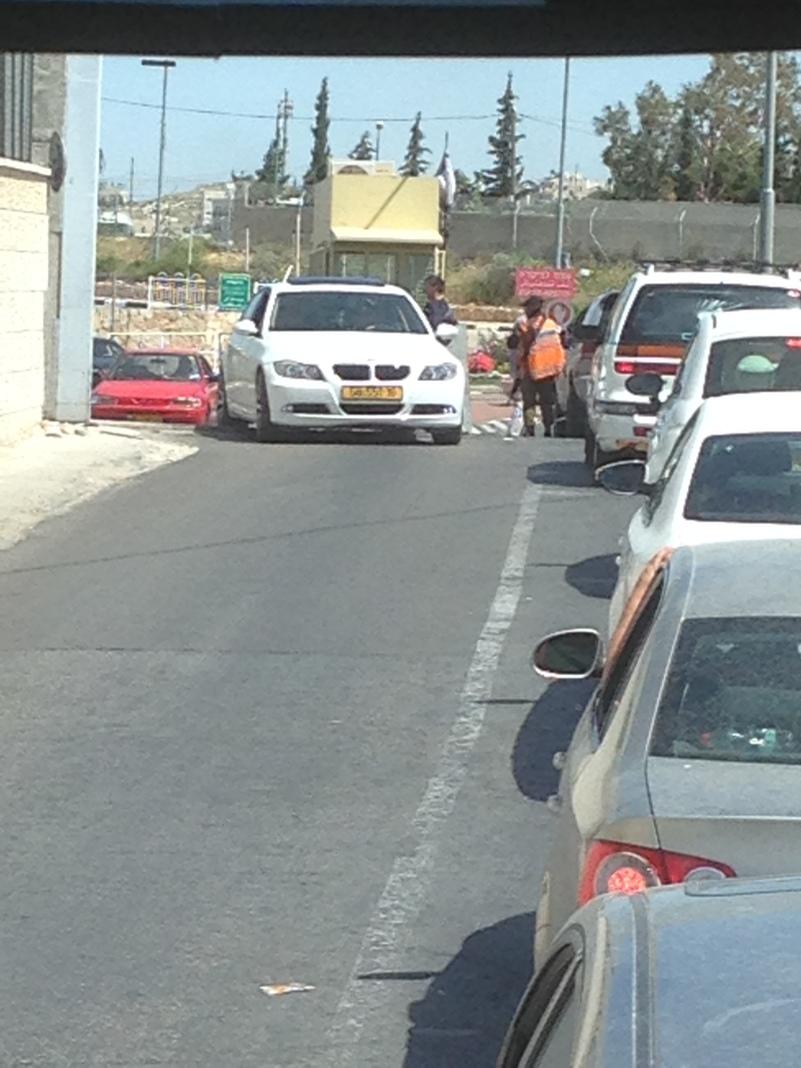 Bethlehem - the security checkpoint