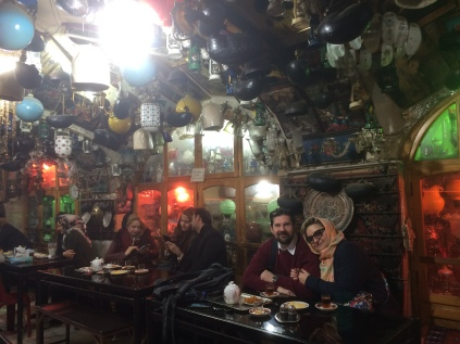 Isfahan - Local Tea House