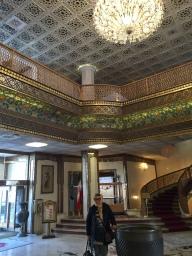 Isfahan - Lobby of Abbasi Hotel
