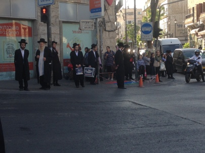 Mea Shearim - closer to the contemporary world