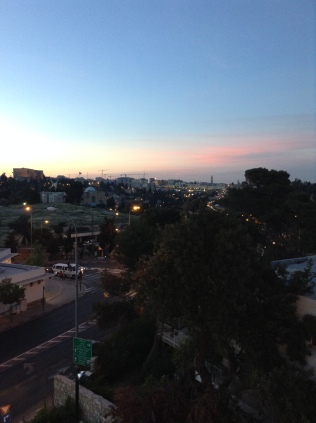 View from Dan Boutique Hotel