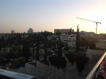 Sunset in Jerusalem