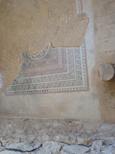 Masada - the palace