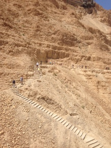 Stairs to Masada