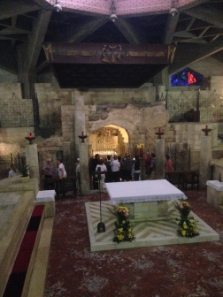 The Basilica of the Annunciation- Mary's Grotto