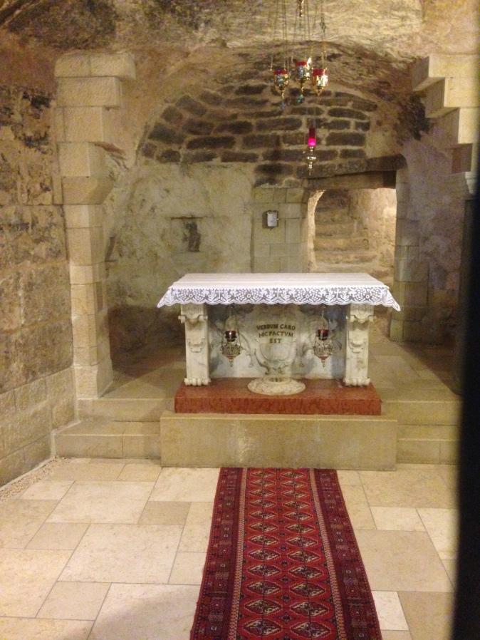 Bethlehem - Mary's Grotto