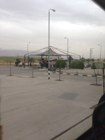 Entering the West Bank