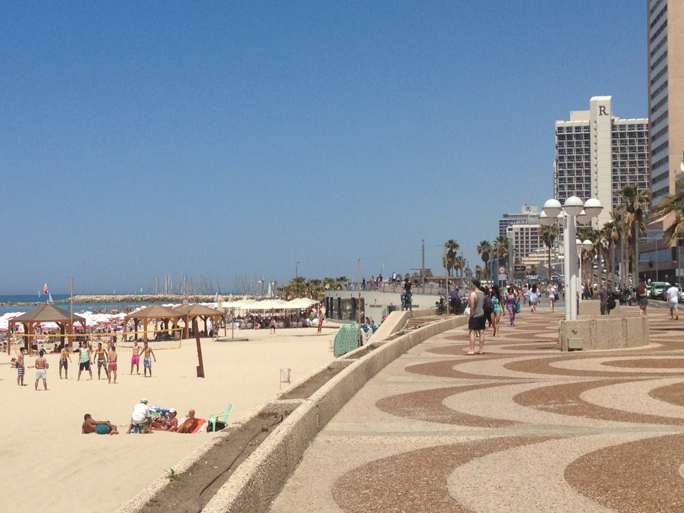 The Beach in Tel Aviv