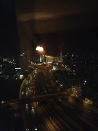 Night view on Hayalon Highway