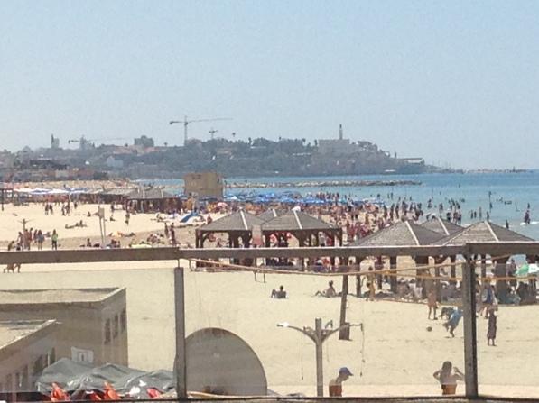 Beach of Tel Aviv