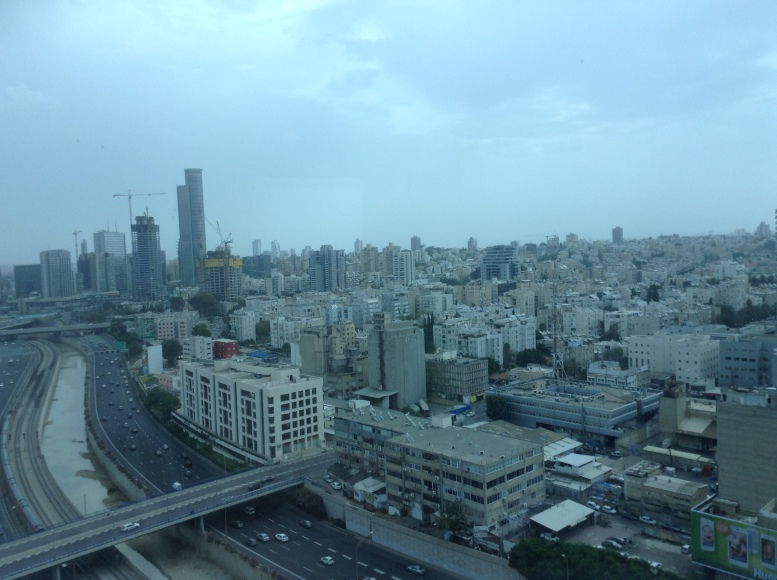View on Ayalon Highway