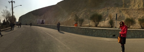 On the way back from Mt. Tochal