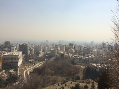 Views on Tehran from Mt. Tochal