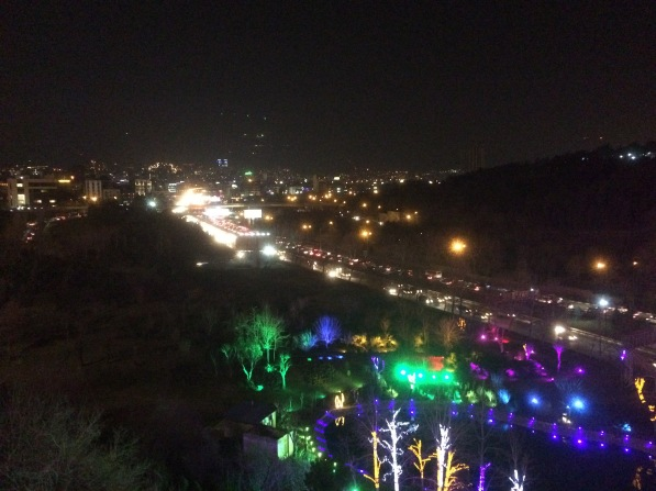 Views from Tabiat Bridge