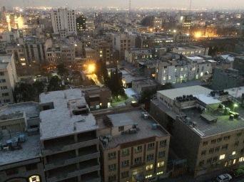 Teheran - po przyjezdzie - widok na poludniowe dzielnice (2)