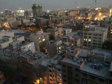 Teheran - po przyjezdzie - widok na poludniowe dzielnice (3)