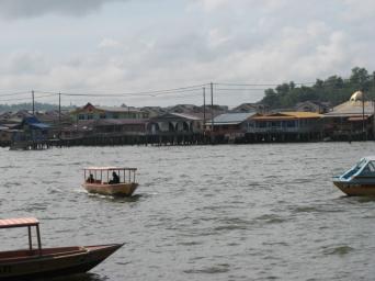 The residential districts of Bandar Seri Begawan