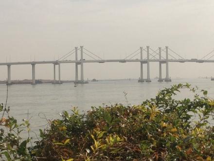 Bridge to Taipa island