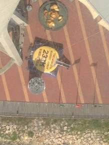 Looking down from TV tower