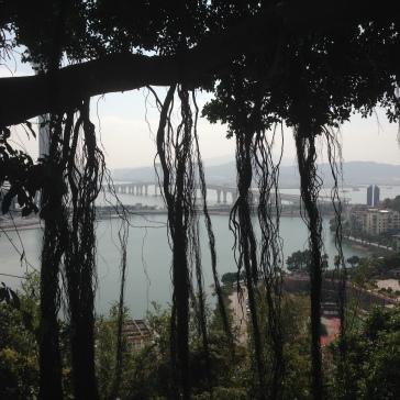 Macau - view on the bay