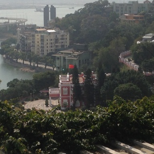 Macau - the Seat of Chinese Governor