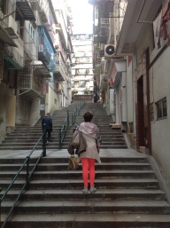 Residential District in Macau