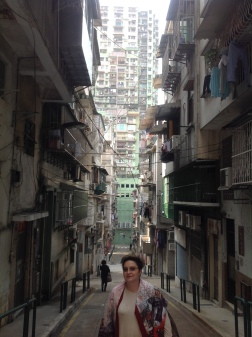 Residential District in Macau