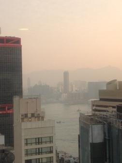 Hong Kong Bay in the morning