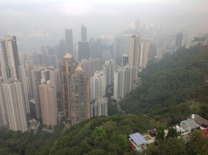 View on Hong Kong from the Peak