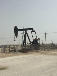 Oil pump in Bahrain