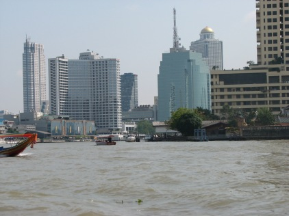 Bangkok from the rive