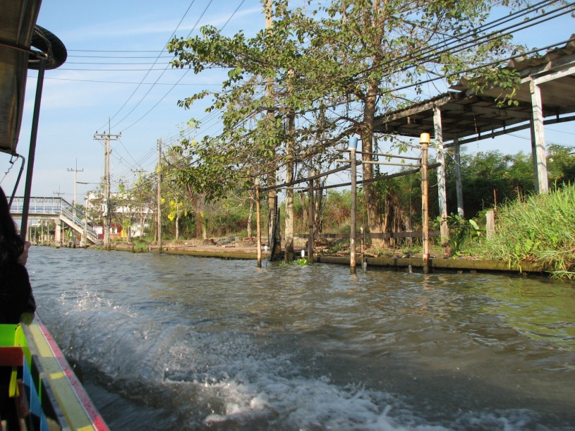 Way to the floating market