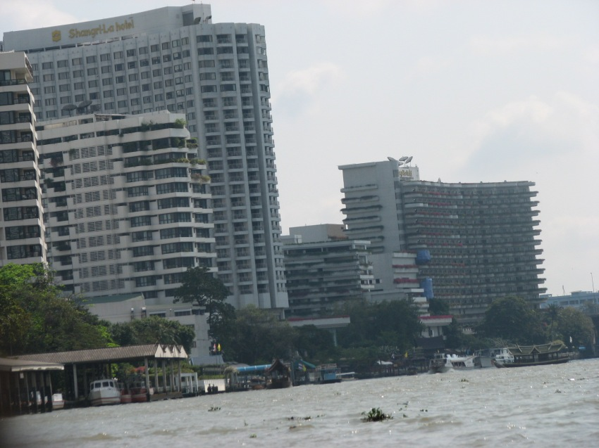 Bangkok from the river
