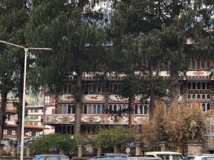Police HQ in Thimphu