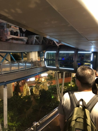 Boarding the Singapore Flyer