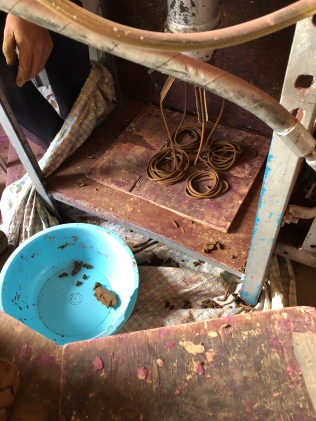 Preparation of incense pulp