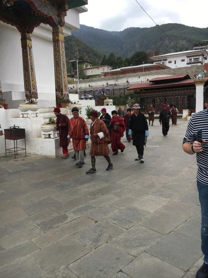 Memorial Chorten in Thimphu