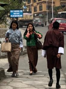 Streets of Thimphu