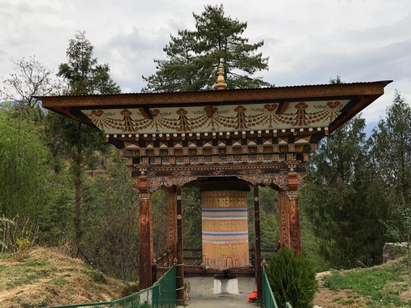 Semtokha Dzong in Thimphu