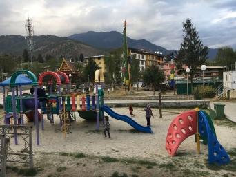 Playground in Thimphu
