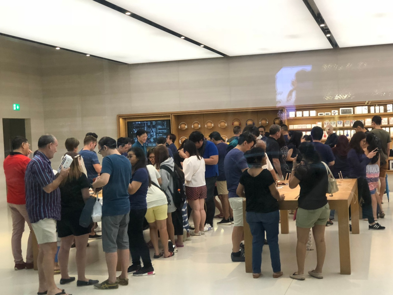 Apple store Orchard Road
