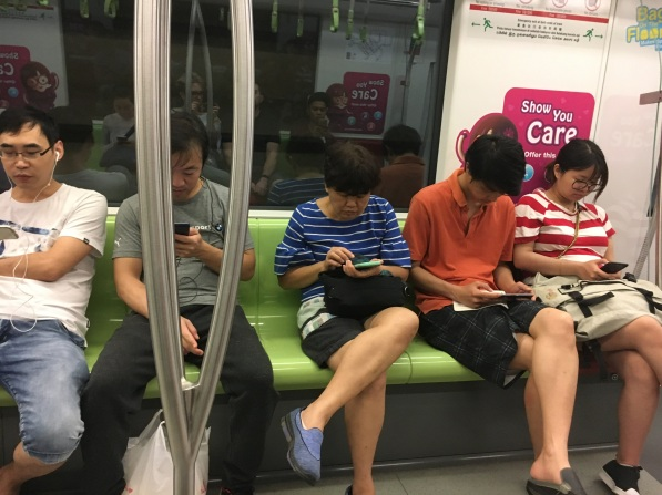 Daily life in metro