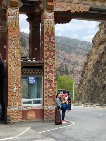 Bridge on the way from Paro to Thimphu