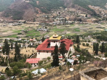 Views from Paro Dzong