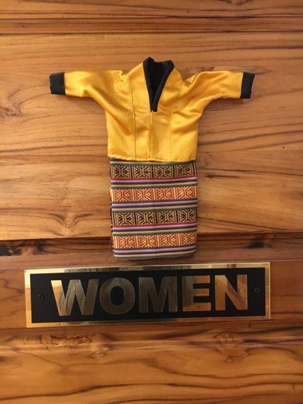 Kira - the traditional Bhutanese dress for women