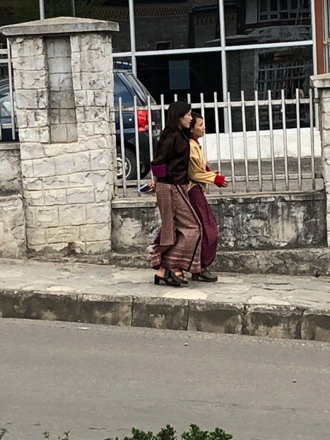 Streets of Thimphu