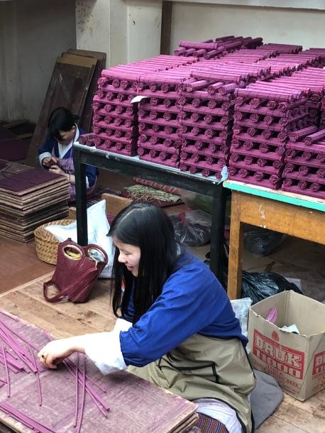 Incense factory Thimphu