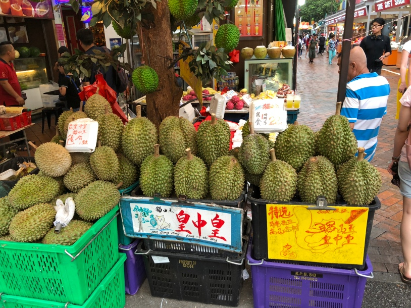 Chinatown - the durians