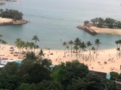 Beach on Sentosa Island